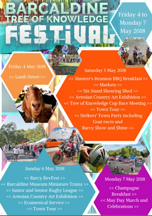 Barcaldine Tree of Knowledge Festival 2018